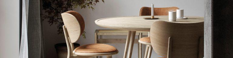 Mater duurzaam meubilair en verlichting