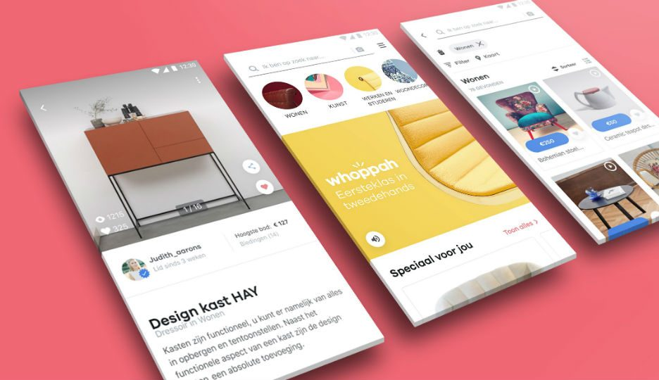 WHOPPAH de online marktplaats voor tweedehands design